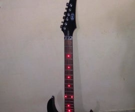 Guitar with LED Fretboard!!!