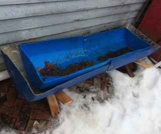 Continuous Compost Tea Bin