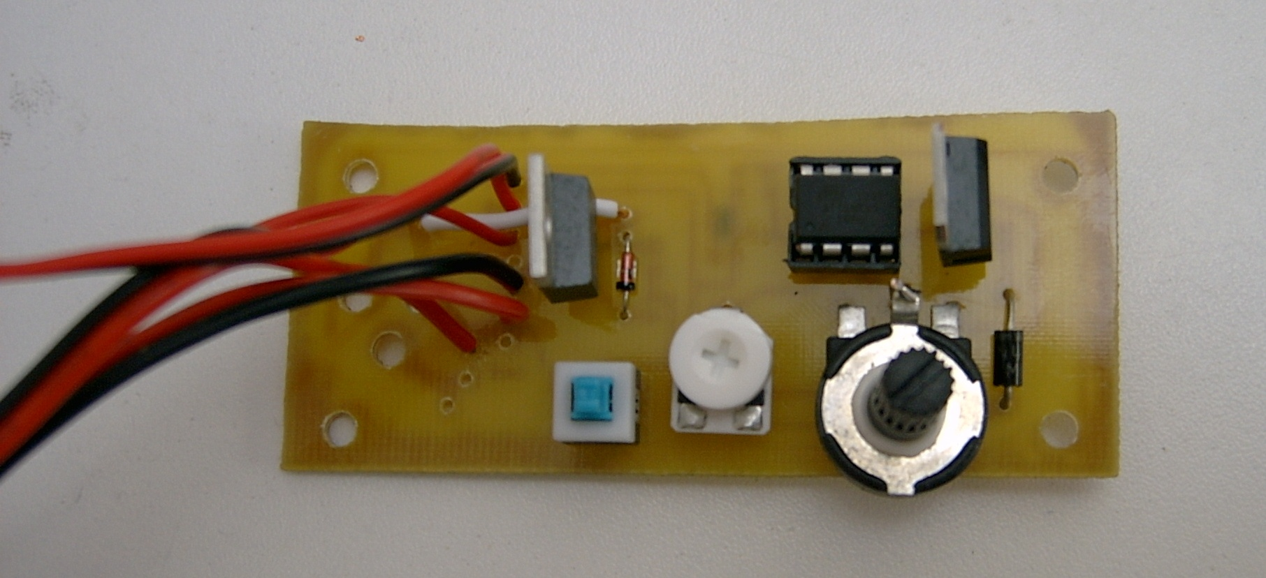 Picture of Soldered Components