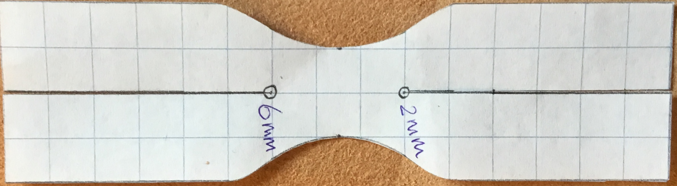 Picture of Drawing the Pattern on the Leather, Cutting and Punch the Holes