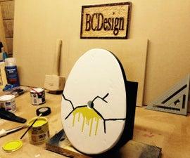 Cracked Egg Birdhouse