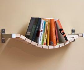 Rope Bridge Bookshelf