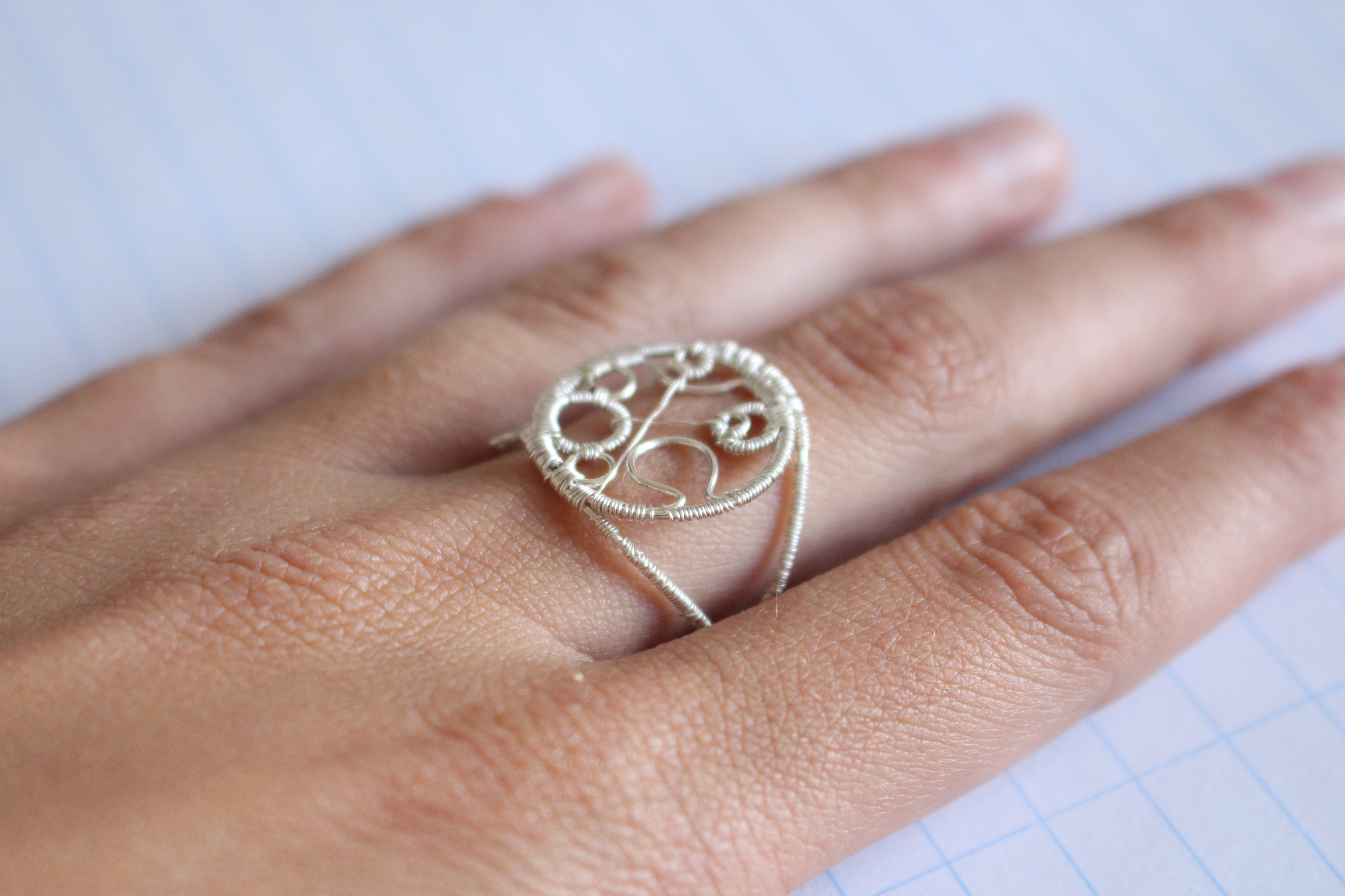 Picture of Circular Gallifreyan Rings