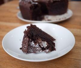 Caffeine Mocha Rum Cake