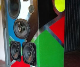 R.R.S.S. Raspberry pi Rave Sound System