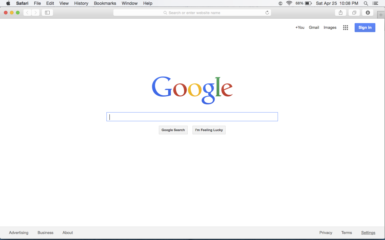 Picture of Where to Get Rid of the Problems- Safari