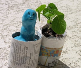 Epilog challenge: Ceramic Seedling Pot Maker