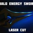 Laser Cut Energy Sword
