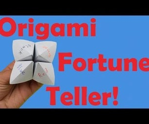 How to Fold an Origami Fortune Teller + How to Use