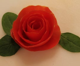 How to Make a Tomato Rose