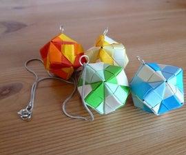 Stellated octahedron pendant