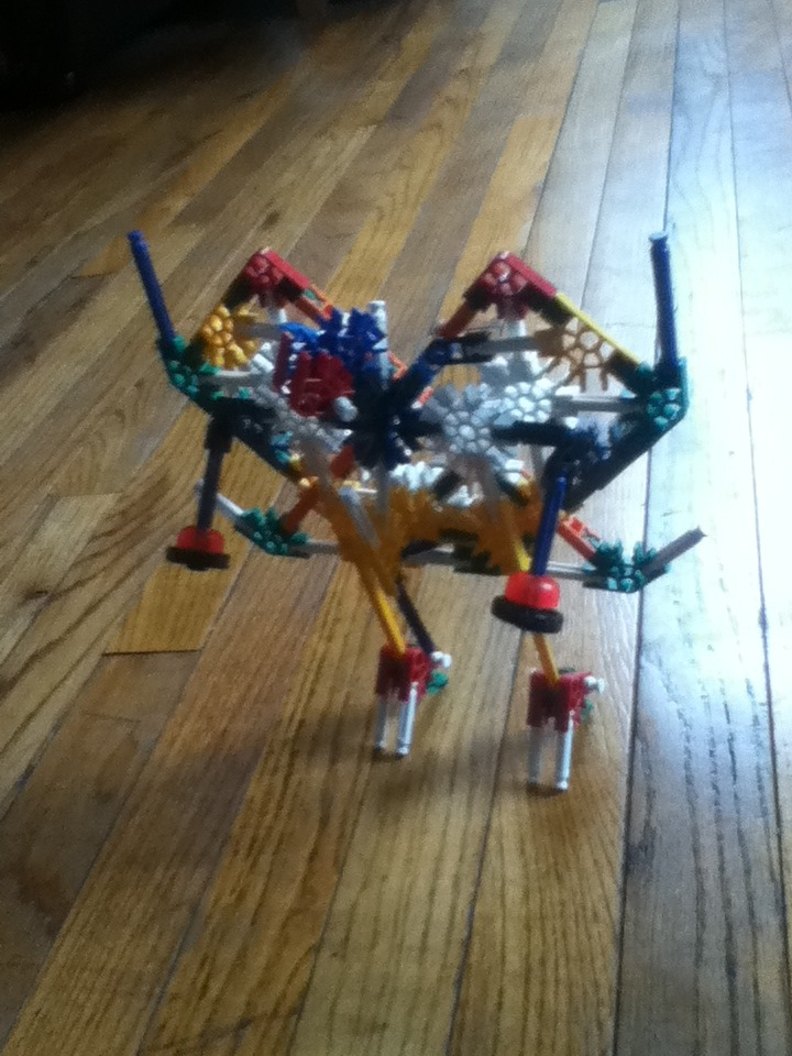 Picture of How to Make Your Own Knex Transformer