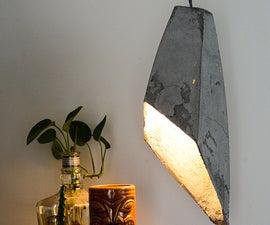 Hanging Concrete lamp