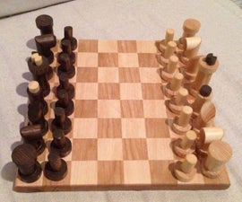 Chess Game from Scrap DIY