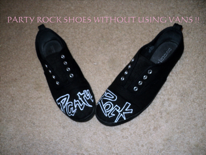 Picture of Party Rock Shoes W/Out Using Vans !