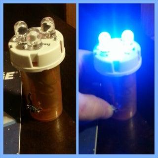Film Canister LED Flashlight