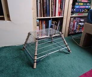 Cheap/upcycled Shopping Basket Stool