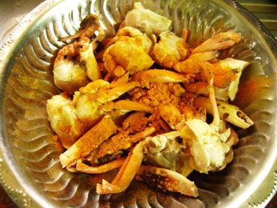 Clean Crab Pieces