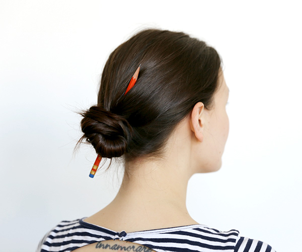 Picture of Make a 10 Second Hair Bun