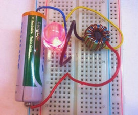 Simple Miniature Joule Thief