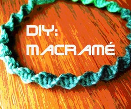 DIY: Macramé Necklace
