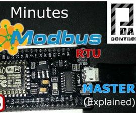 ESP8266 12E Modbus RTU Master (Improved) Industrial