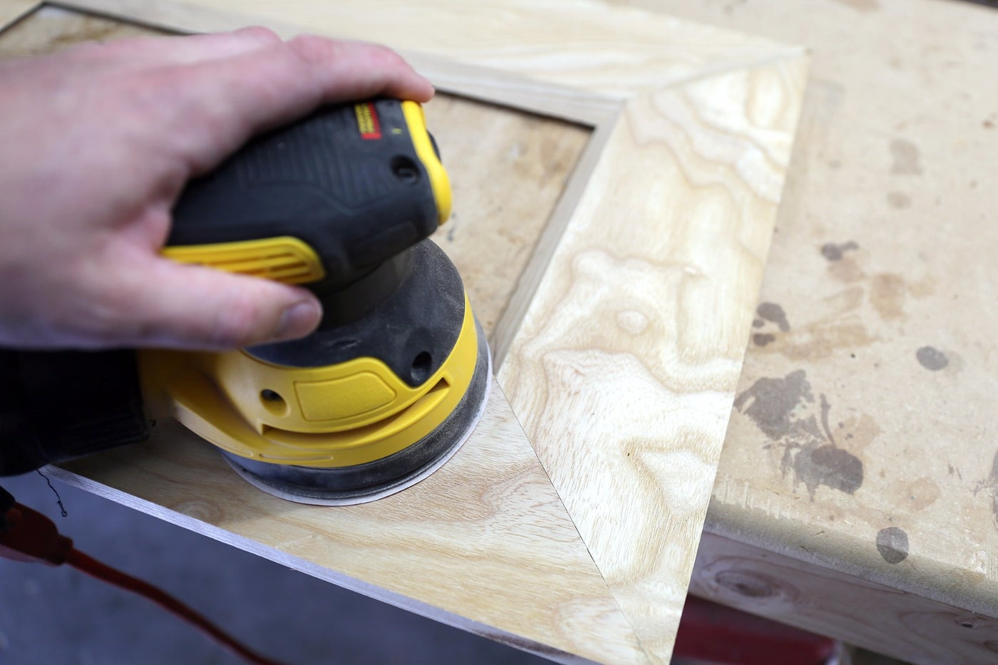 Sanding + Finishing Mitres