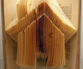 Folded Book Art Tutorial