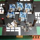 4 Way Traffic Light System Using 5 Arduinos and 5 NRF24L01 Wireless Modules