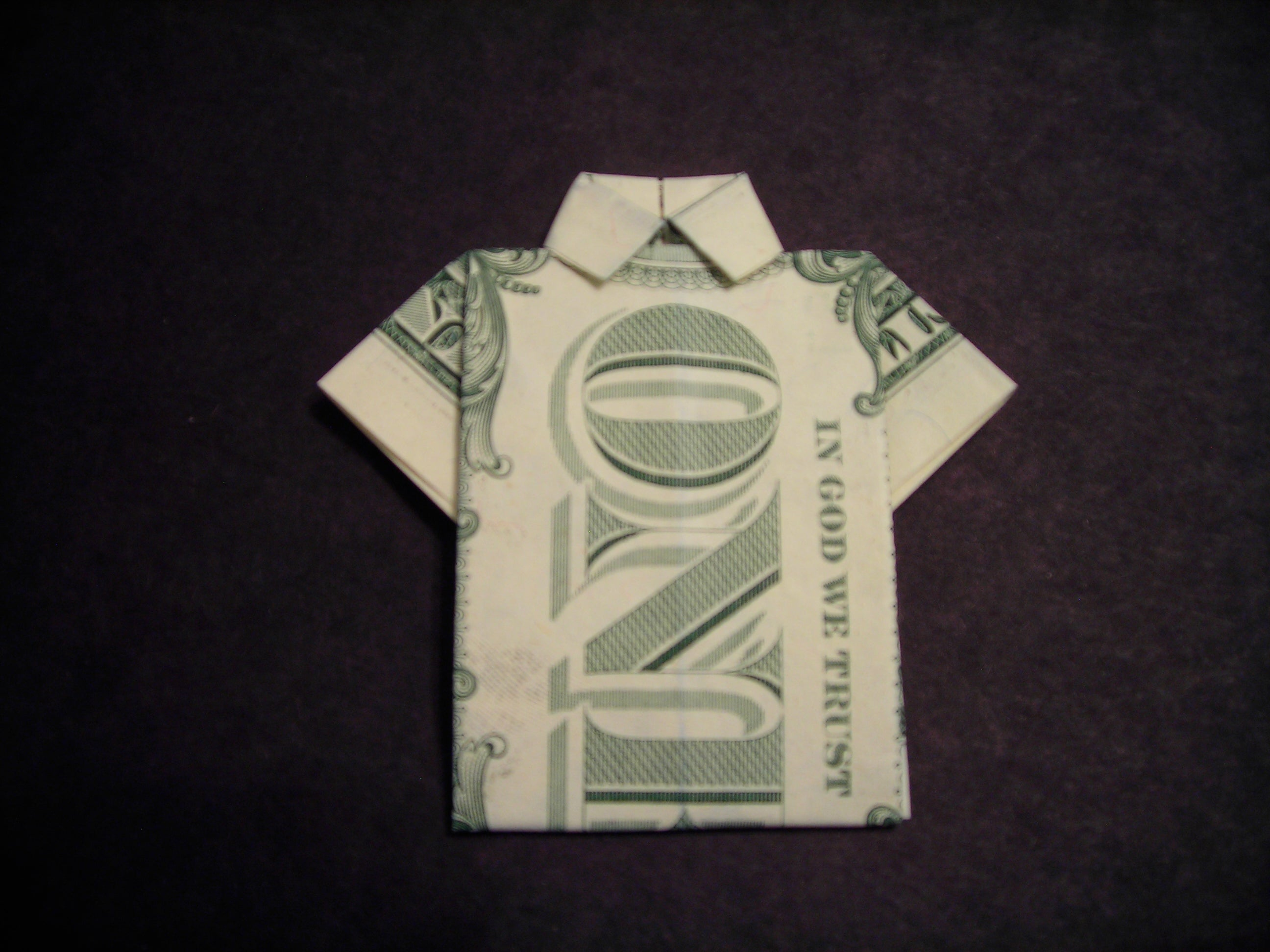 You have to see this awesome cigarette box origami polo shirt ... | 1944x2592