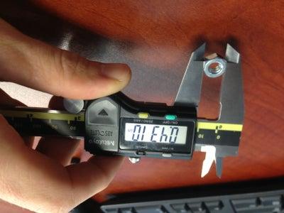 Measure Hex Nut
