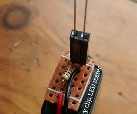 Battery Clip LED Tester.