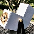 A Viewing Hood/Camera Mount for My Solar Projector