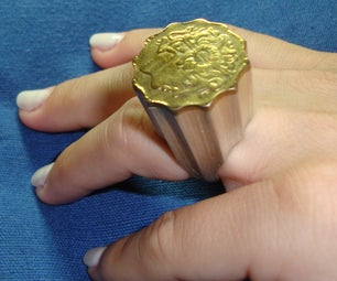 COIN PILLAR RING