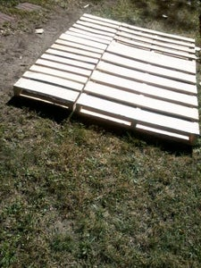 Pallet Wood Bed Frame: Queen Size - Instructables