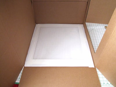 Attach Muslin Fabric to Inside of Window