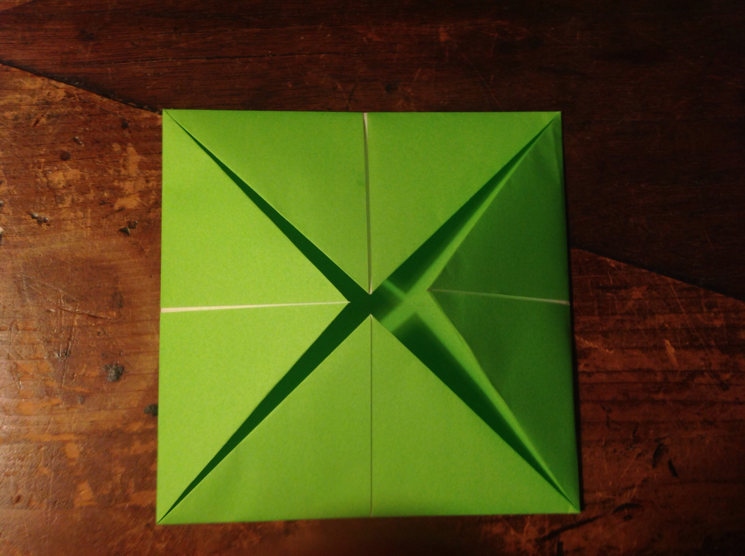Picture of Fold OTHER Corners to the Middle
