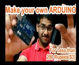 ArduinoISP | Make Your Own Arduino| Learn to Burn Bootloader onto ATmega328P-PU