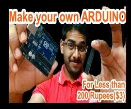 ArduinoISP | Make Your Own Arduino| Learn to Burn Bootloader onto ATmega328P-PU