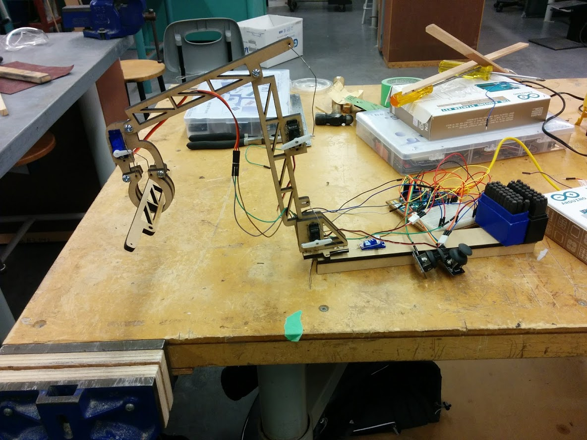 Picture of Arduino Robot Arm