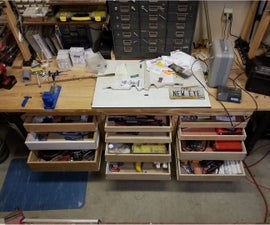 Add Drawers to Your Workbench