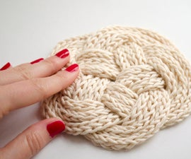 What to Do With Leftover Cotton: Knotted Coasters