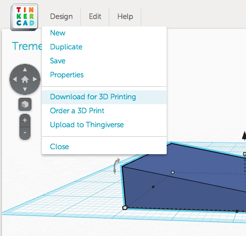 Picture of Draw It in Tinkercad.