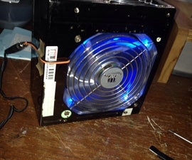 Solder Fume Vent From An Old PSU