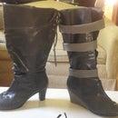 DIY Wedge Heels