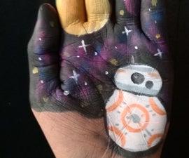 BB8 Hand Art (Star Wars)