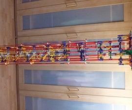 Spiral Stepper Lift, a Knex Ball Machine Lift