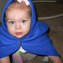 Easy Hooded Fleece Cape for Children or Adults