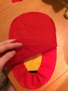 Sewing Together the Front and Back