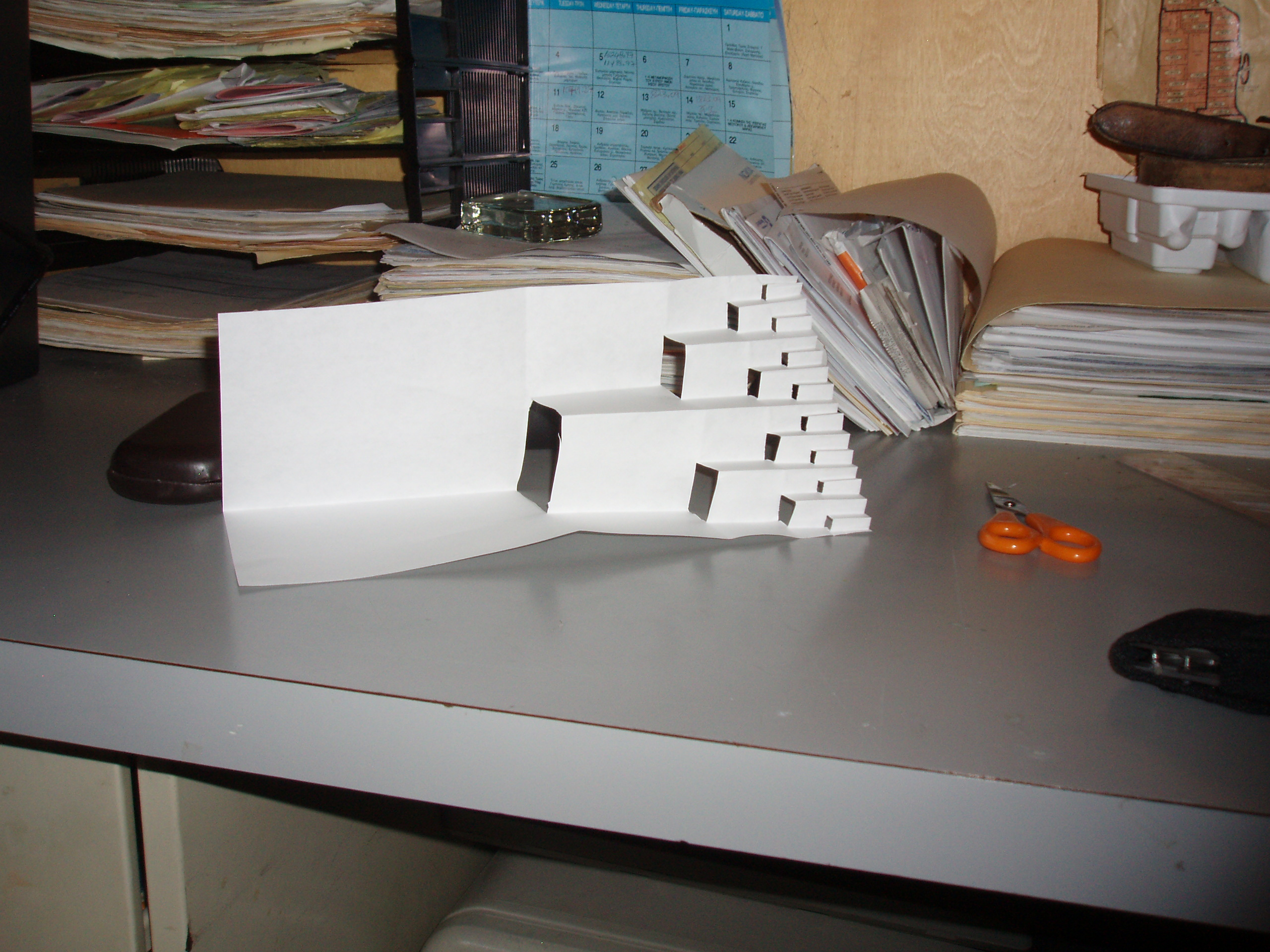 Picture of Fun Kirigami Stairs